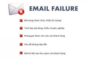 sai lầm trong email mà doanh nghiệp gặp phải